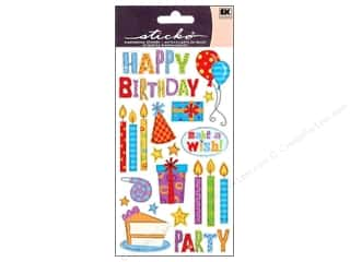 Birthdays $2 - $4: EK Sticko Stickers Birthday Party