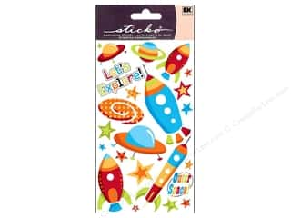 Gifts Burgundy: EK Sticko Stickers Space Ships