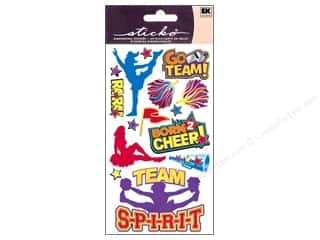 sticker: EK Sticko Stickers Cheerleaders