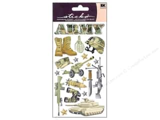 Careers & Professions Crafting Kits: EK Sticko Stickers Army
