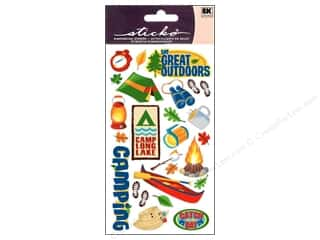 Outdoors inches: EK Sticko Stickers The Great Outdoors