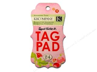K&amp;Co Tag Pad Sweet Nectar