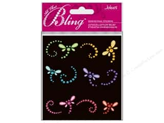 EK Success Rhinestones: Jolee's Bling Stickers Dragonflies