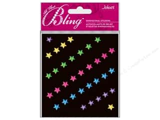 EK Jolee&#39;s 3D Sticker Bling Multi Stars