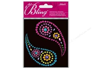 EK Jolee's 3D Sticker Bling Large Paisleys