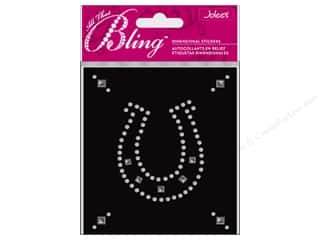 EK Jolee's 3D Sticker Bling Lg Horseshoe