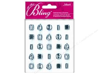 EK Jolee's 3D Sticker Bling Gems Baby Blue Set