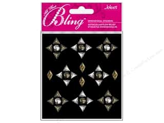 Dads & Grads Stickers: Jolee's 3D Bling Stickers Studs Triangle and Mix