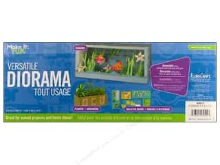 Back To School Kids Crafts: FloraCraft Styrofoam Kit Diorama 6 x 15 in.