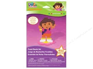 Licensed Products Kid Crafts: Nickelodeon Kit Perler Bead Hanger Box Dora