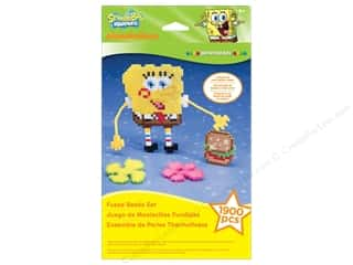 Nickelodeon Kit Perler Bead Hanger Box SpongeBob