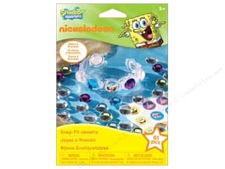 Nickelodeon Kit Snap Fit Jewelry SpongeBob