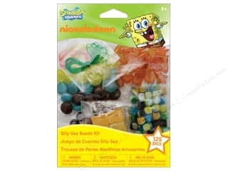 Licensed Products Kid Crafts: Nickelodeon Kit Silly Sea Beads Jewelry SpongeBob