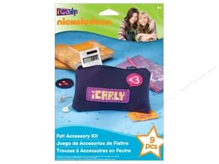 Merchandising Accessories Clearance Crafts: Nickelodeon Kit Felt Accessory iCarly