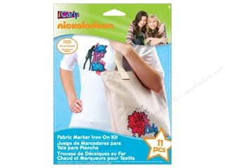Nickelodeon Kit Fabric Marker Iron On iCarly