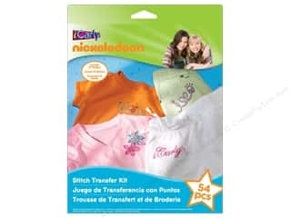 Licensed Products Kid Crafts: Nickelodeon Kit Stitch Transfer iCarly