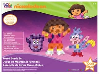 Mothers Day Gift Ideas: Nickelodeon Kit Perler Bead Gift Box Dora