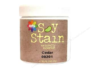 Stains: Delta Soy Finish Stain 4oz Cedar