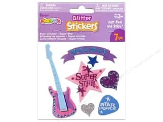 Darice Foamies Sticker Glitter Superstar