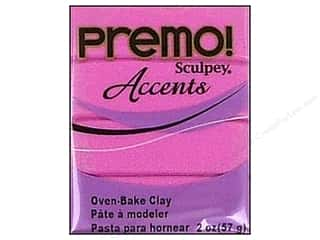 Kids Crafts Clay & Modeling: Premo! Sculpey Polymer Clay 2 oz. Magenta Pearl