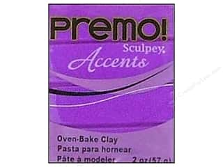 Premo Accents: Premo Polymer Clay 2oz Purple Pearl