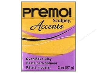 Sculpey Original Clay: Premo! Sculpey Polymer Clay 2 oz. 18K Gold