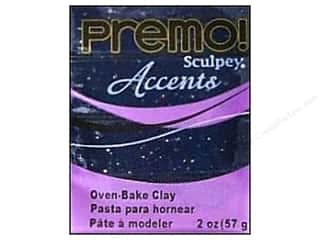 Premo Accents: Premo Polymer Clay 2oz Blue Granite