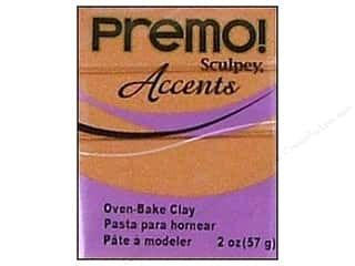 Premo Accents: Premo Polymer Clay 2oz Copper