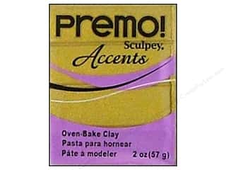 Sculpey Premo: Premo! Sculpey Polymer Clay 2 oz. Antique Gold