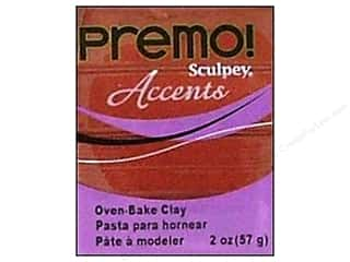 Sculpey Clay & Modeling: Premo! Sculpey Polymer Clay 2 oz. Bronze