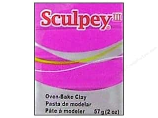 Kids Crafts Clay & Modeling: Sculpey III Clay 2 oz. Fuchsia Pearl