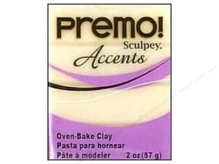 Premo Accents: Premo Polymer Clay 2oz Translucent White