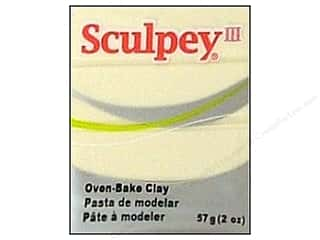 Craft & Hobbies Clay & Modeling: Sculpey III Clay 2 oz. Glow in the Dark