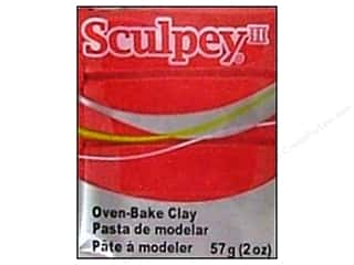 Sculpey III Clay 2oz Deep Red Pearl