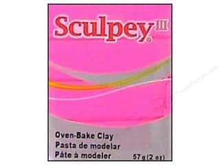 Sculpey III Clay 2oz Candy Pink- Bright Pink