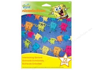 Nickelodeon Nickelodeon Kit: Nickelodeon Kit Interlocking Garland SpongeBob