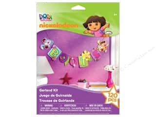 Licensed Products Kid Crafts: Nickelodeon Kit Garland Dora