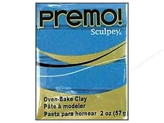Sculpey Original Clay: Premo! Sculpey Polymer Clay 2 oz. Denim