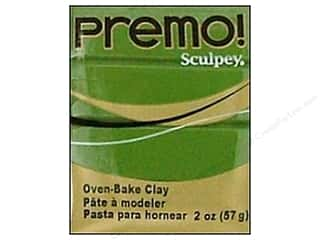 Premo Polymer Clay 2oz Spanish Olive