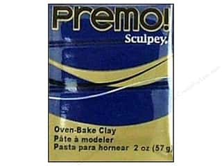 Clay Blue: Premo! Sculpey Polymer Clay 2 oz. Navy Blue
