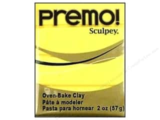 Premo Polymer Clay 2oz Sunshine
