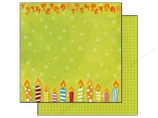 Best Creation Paper 12x12 Lets Party Blow/Candles (25 sheets)