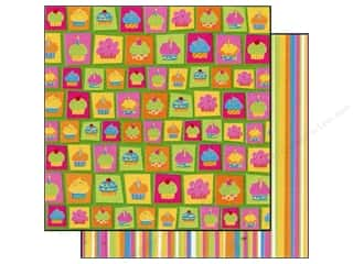 Best Creation Paper 12x12 Lets Party Cupcakes (25 sheets)