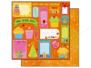 2013 Crafties - Best Adhesive: Best Creation 12 x 12 in. Paper Let's Party Party Tags (25 sheets)