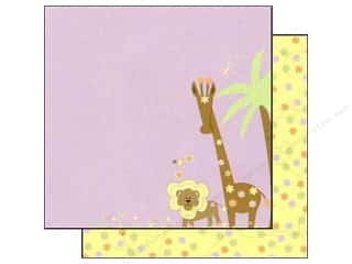 Scribbles inches: Best Creation 12 x 12 in. Paper Safari Girl Collection Jungle Love Right (25 sheets)