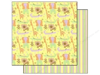 Best Creation Paper 12x12 Safari Girl JungleFrends (25 sheets)