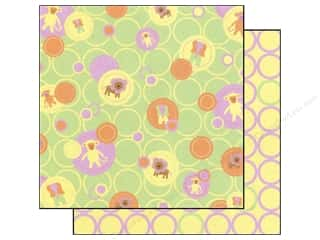 2013 Crafties - Best Adhesive: Best Creation 12 x 12 in. Paper Safari Girl Baby Dots (25 sheets)