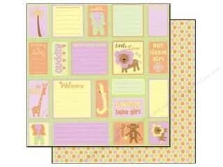 Best Creation 12 x 12 in. Paper Safari Girl Journal Fun (25 sheets)