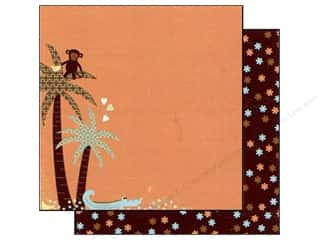 Best Creation 12 x 12 in. Paper Safari Boy Jungle Love Left (25 sheets)