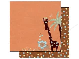 Brothers Height: Best Creation 12 x 12 in. Paper Safari Boy Collection Jungle Love Right (25 sheets)